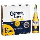 Corona Extra Mexican beer imported - 4x33cl Brand Price Match - Checked Tesco.com 02/12/2013