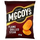 McCoy's ridge potato flame grilled steak chips - 50g Brand Price Match - Checked Tesco.com 20/10/2014