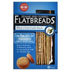 No-No flatbreads sesame topped less than 10% fat - 125g