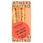 Waitrose egg mayonnaise & bacon sandwich -