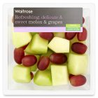 Waitrose melon & grape fruit salad - 375g