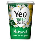 Yeo Valley organic natural yogurt - 500g Brand Price Match - Checked Tesco.com 02/12/2013