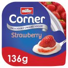 Müller Fruit Corner yogurt with strawberry - 150g Brand Price Match - Checked Tesco.com 16/07/2014