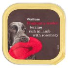 Waitrose lamb terrine with rosemary dog food - 150g