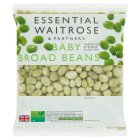 essential Waitrose baby broad beans - 750g
