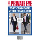 Private Eye magazine -