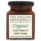 The English Provender Co, organic sweet tomato & chilli chutney
