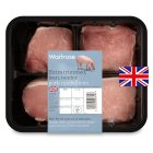 Waitrose British Outdoor Bred pork extra trimmed loin medallions
