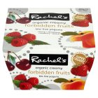 Rachel's organic thick & creamy forbidden fruits yogurts - 4x120g Brand Price Match - Checked Tesco.com 17/12/2014