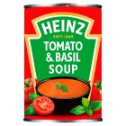 Heinz cream of tomato & basil soup - 400g Brand Price Match - Checked Tesco.com 08/02/2016