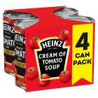 Heinz classic cream of tomato soup - 4x400g