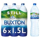 Buxton still natural mineral water - 6x1.5litre Brand Price Match - Checked Tesco.com 30/07/2014