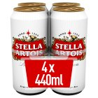 Stella Artois - 4x440ml Brand Price Match - Checked Tesco.com 24/11/2014