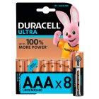 Duracell Ultra Power AAA Batteries Alkaline - 8s