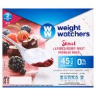 Weight Watchers layered berry fruits fromage frais - 4x100g