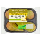 Waitrose Perfectly ripe Conference pears - 4s