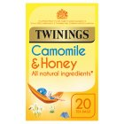 Twinings camomile, honey & vanilla 20 tea bags - 30g Brand Price Match - Checked Tesco.com 23/04/2015