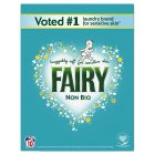 Fairy Non Bio  Washing Powder Laundry Detergent 10 washes