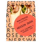 Waitrose hoisin duck wrap - each