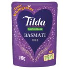 Tilda steamed brown basmati rice - 250g Brand Price Match - Checked Tesco.com 29/10/2014