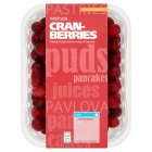 Waitrose frozen cranberries - 300g