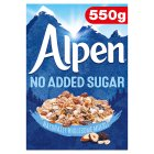 Alpen (no added sugar) - 560g Brand Price Match - Checked Tesco.com 28/07/2014