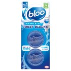 Bloo acticlean cistern blocks - 2x38g Brand Price Match - Checked Tesco.com 20/10/2014