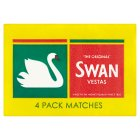 Swan vestas matches - 4s Brand Price Match - Checked Tesco.com 05/03/2014