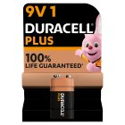 Duracell Plus Power 9V Batteries Alkaline -