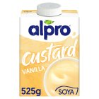 Alpro vanilla soya custard - 525g Brand Price Match - Checked Tesco.com 04/12/2013