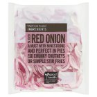 Waitrose Cooks' Ingredients sliced red onion twin pack - 2x200g