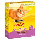 PURINA® GO-CAT® ADULT Cat with Chicken & Duck dry food - 340g