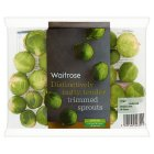 Waitrose trimmed brussels sprouts - 330g