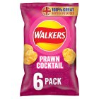 Walkers prawn cocktail multipack crisps - 6x25g Brand Price Match - Checked Tesco.com 20/07/2016