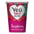 Yeo Valley organic raspberry yogurt - 450g Brand Price Match - Checked Tesco.com 05/03/2014