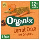 Organix carrot cake cereal bars - 6x30g