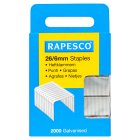 Rapesco staples 2 pack - each