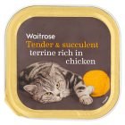 Waitrose special recipe chicken & duck cat food - 100g