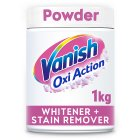 Vanish Oxi Action crystal white powder - 1kg Brand Price Match - Checked Tesco.com 20/05/2015