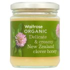 Waitrose Organic New Zealand organic clover honey - 340g