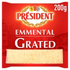 President Emmental grated - 200g Brand Price Match - Checked Tesco.com 04/12/2013