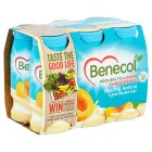 Benecol peach & apricot yogurt drink - 6x67.5g
