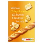 Waitrose all butter cheese twists - 125g