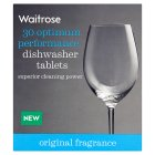 Waitrose All-in-One dishwasher tablets - 30 tablets - 540g