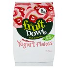 Fruit Bowl Raspberry Flakes with Yogurt Coating - 5x25g