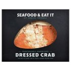 Seafood & eat it Cornish dressed crab - 120g