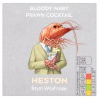 Heston from Waitrose Bloody Mary Prawn Cocktail - 180g