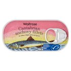 Waitrose anchovy fillets in extra virgin olive oil - drained 30g