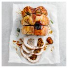 Double Stuffed Turkey Breast -