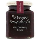 English Provender Co wild cranberry sauce - 240g